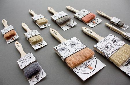 Paintbrush Mustache