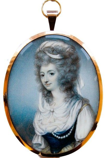 Miss Elizabeth Keppel, (D. 1821)  by George Place Miss Kepple was the illegitimate daughter and co-heiress of Admiral Augustus, Viscount Keppel (1725–1786), who never married. Miss Keppel married Captain, later General, Thomas Meyrick, of the 66th Regiment