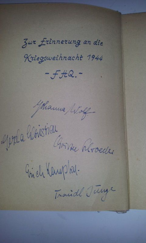 Erich Kempka, Traudl Junge, Christa Schröder, Johanna Wolf, Gerda Christian | eBay