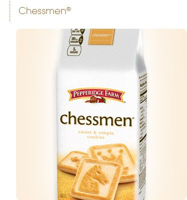 Pepperidge Farm® - Sweet & Simple-   Chessmen Cookies