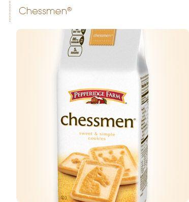 Pepperidge Farm® - Sweet & Simple-   Chessmen Cookies