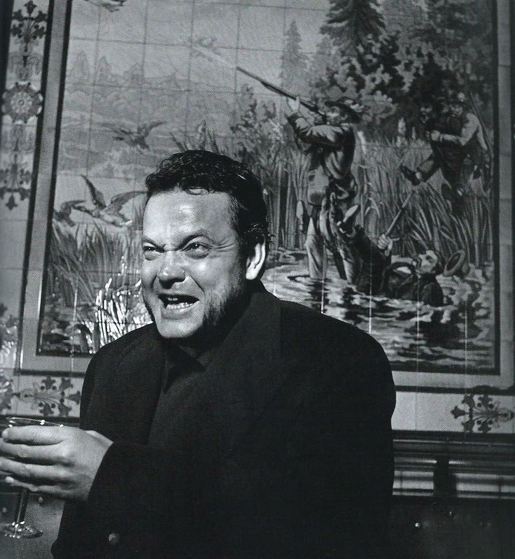 Orson Welles - Paris 1950, Robert Doisneau