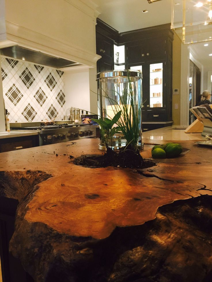 28 Best Live Edge Wood Countertops Images On Pinterest