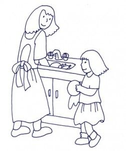 Training Our Children to Help with Household Chores. ... Do people in your country train their children to do household chores? Both boys and girls? Who do you think should do the household chores? Is it fair - by whose standards?