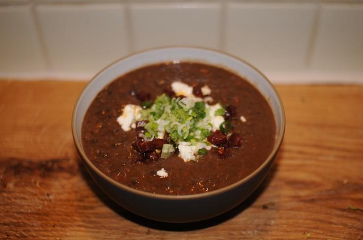 Spicy Black Bean Soup | Raw, Vegan, Vegetarian and Gluten-Free Eats ...