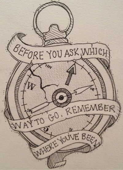 Stop watch tattoo design