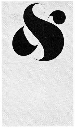 Ampersand by Herb Lubalin 1972