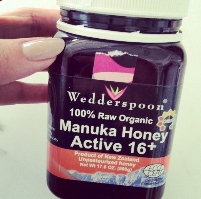 Make sure when you buy it to look for the word ACTIVE and a UMF level of 16+ up to 24+. The higher the UMF level, the higher the health benefits of Manuka Honey ... i know i've heard of this before