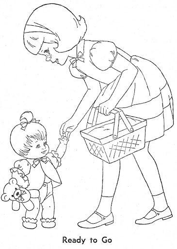 Coloring Book~Cheerful Tearful - Bonnie Jones - Picasa Albums Web good site. Suz