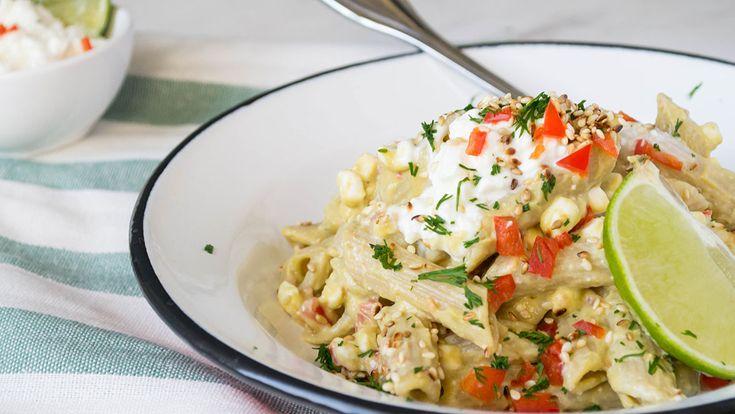 Ζυμαρικά με Αβοκάντο και Dirollo Cottage : Dirollo