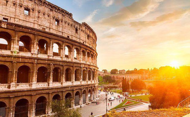 Coliseu em Roma, Itália
