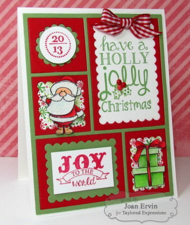 ladies high heel black sandals Holly Jolly Christmas Card by Joan Ervin  Christmas   Cardmaking   CuttingPlates