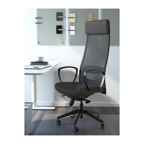 MARKUS Swivel chair - Vissle dark gray - IKEA