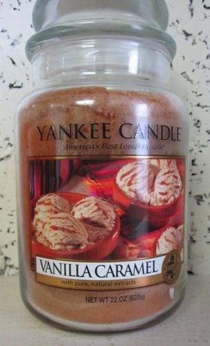 Vanilla caramel Yankee candle