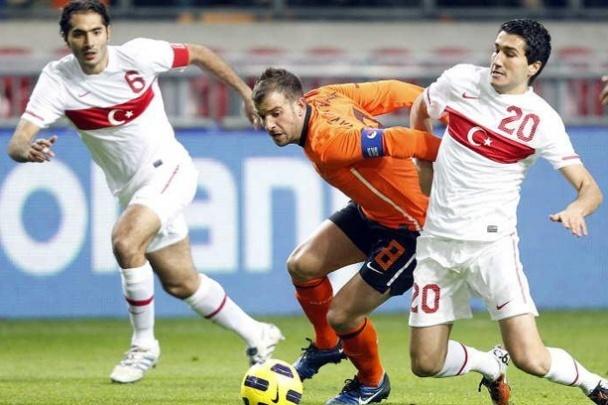 Hollanda - Türkiye maçı