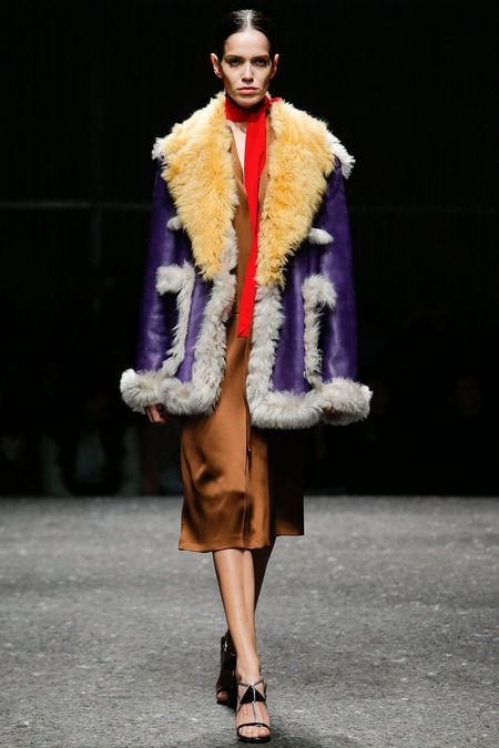 Foreign Inspiration. Prada. Fall 2014