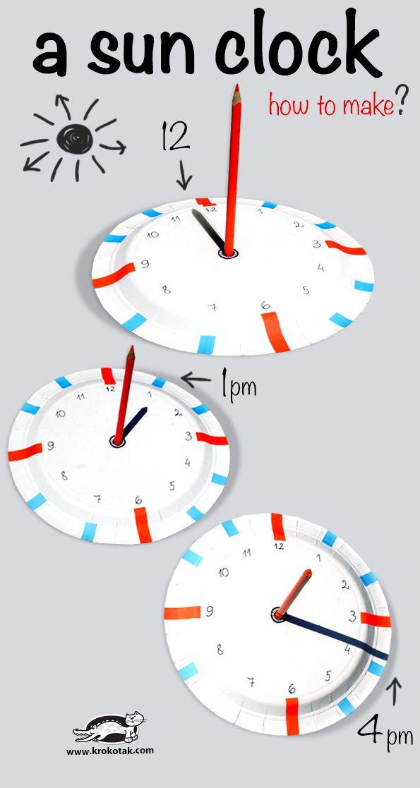 How to make a sun clock? (Tutorial) @krokotak // Hacer un reloj de sol fácilmente