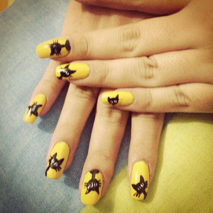 Nails #cat