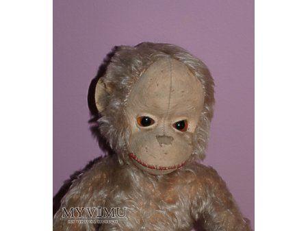 Vintage toys - małpka, monkey, stare zabawki