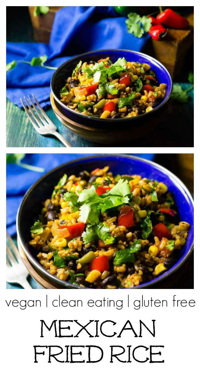 Mexican Fried Rice   an easy, fun veggie meal