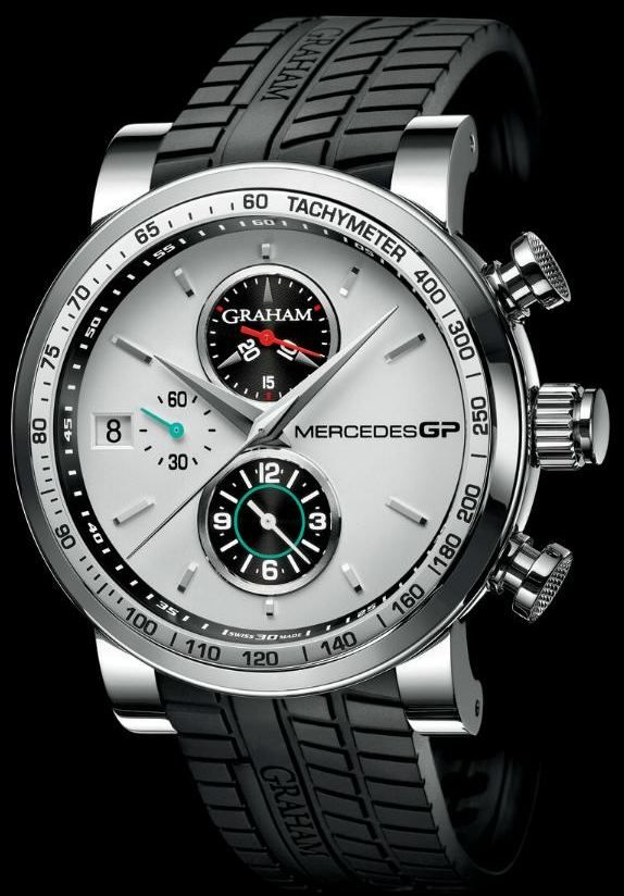 Graham Mercedes GP Trackmaster & Silverstone Chronograph Watches