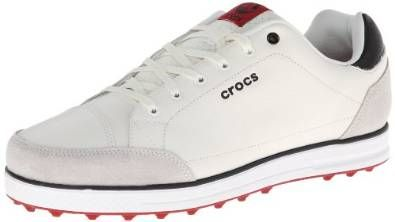 Made from leather with manmade soles these mens Karlson golf shoes by Crocs will ensure you look and feel your very best when out on the course