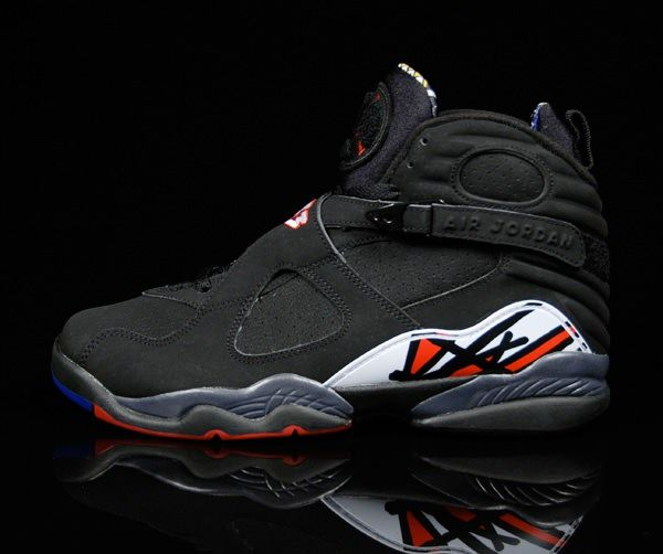 598c7ec1b0c1bf 305381-093 Air Jordan 8 VIII Retro Playoffs Black True Red-White  http   www.hdboc.com 305381093-air-jordan-8-viii-retro-playoffs-blacktrue-redwhite    ...