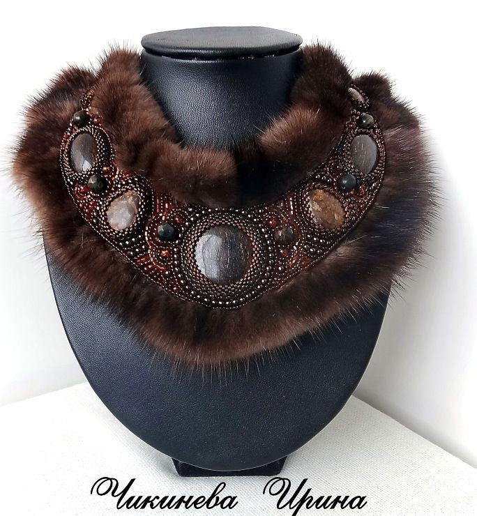 "Gallery.ru / Photo # 1 - Necklace ""Freydis"" - Chikineva"