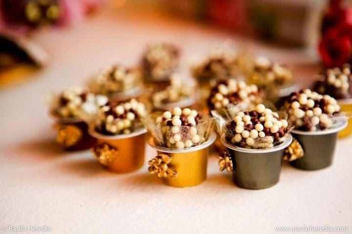 Artesanato com Cápsulas de café   Dá pra economizar na festinha