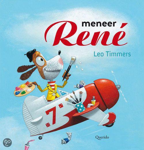 Alles wat meneer René schildert lijkt net echt. Op een dag wordt het ook allemaal echt! Een appel, een auto, een cruise-schip, een vliegtuig... Meneer René blijft maar schilderen. Er is zoveel wat hij hebben wil!