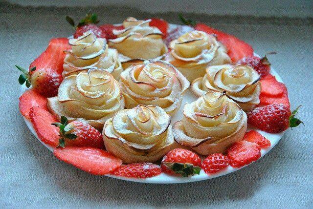 Розы их яблок