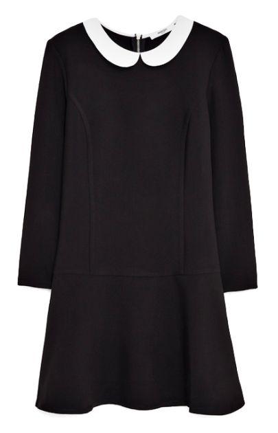 Connu Les 25 meilleures idées de la catégorie Robe noire col claudine  UL16