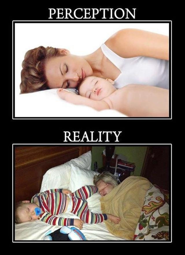 Funny sleeping with a baby | Funny Pictures, Funny Quotes – I