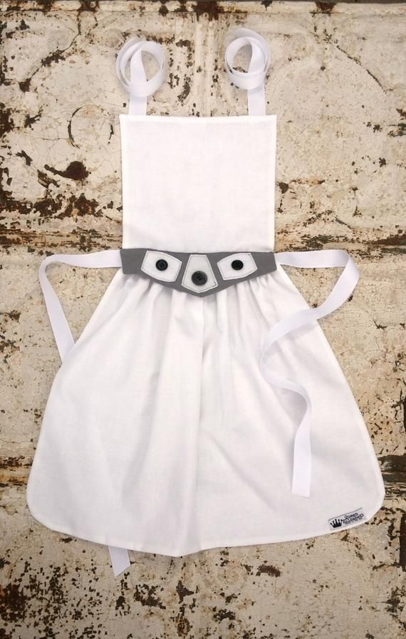 Princess Leia APRON Star Wars Character Apron ADULT One Size