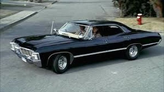 1967 black 4 door chevy impala – I would love to cruise around in one of these l…