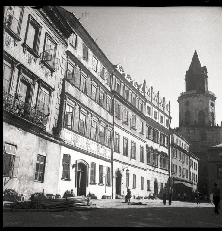 Lublin na zdjęciach Edwarda Hartwiga (zdjęcie 22) - Autor: Edward Hartwig