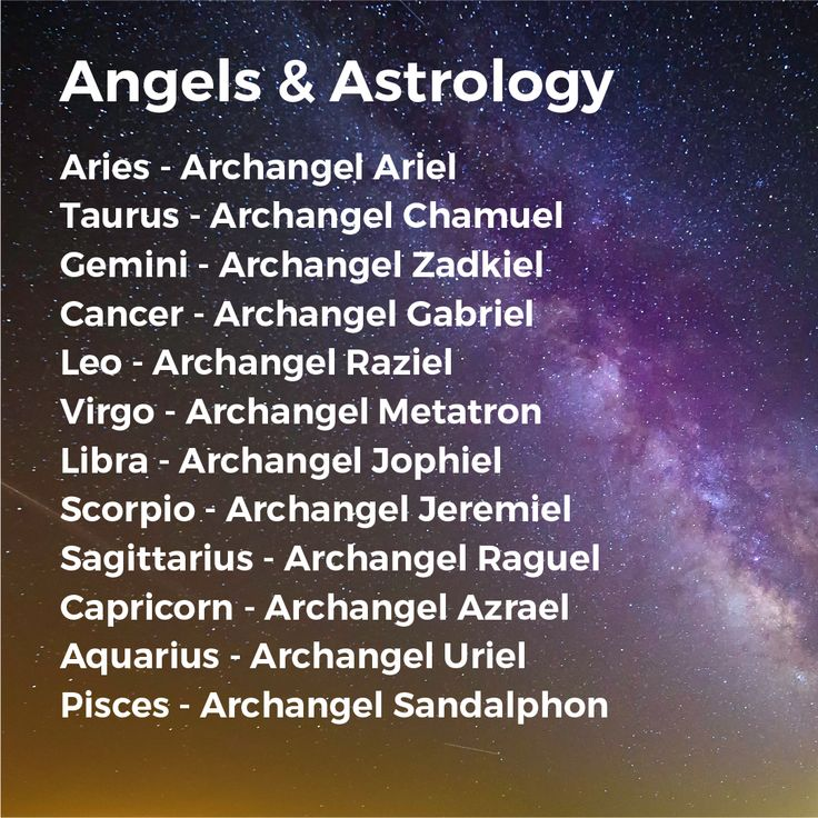 Angels and astrology. What is your sign? Find your sign matches!