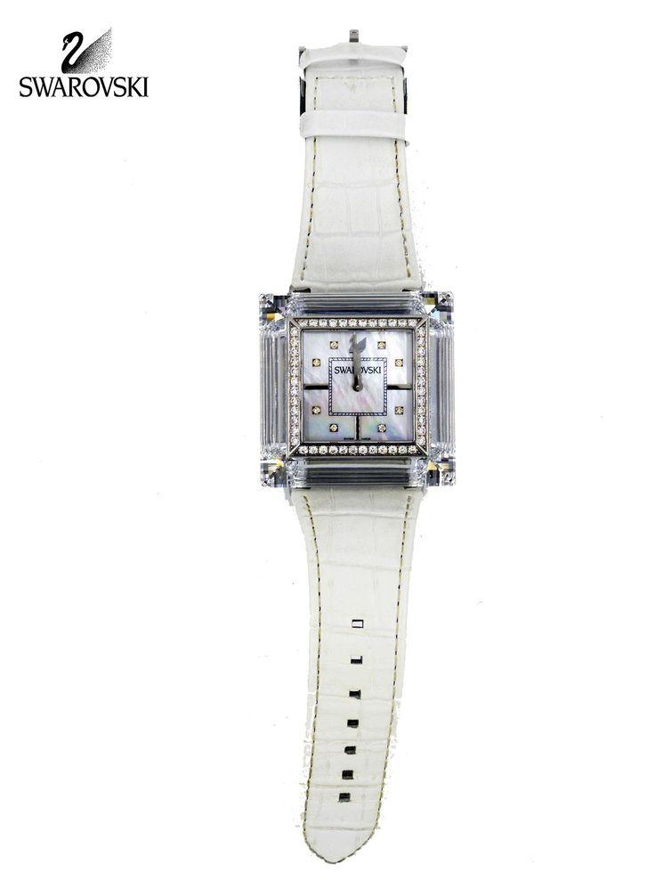 Swarovski 1.18ct DIAMONDS Limited Edition ROCK'N'LIGHT White Swiss WATCH 1066305