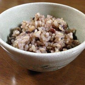 雑穀と小豆が入った玄米ご飯(圧力鍋) by ぎんとえーす [クックパッド ...