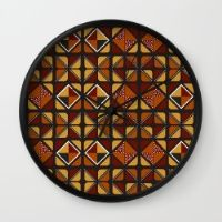 Zulu Sawubona Wall Clock
