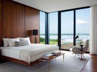 Modern Bedroom by Sawyer | Berson and Randi Puccio Tailor in Bridgehampton, NY