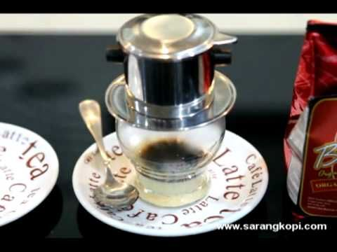 How to Serve Vietnam Coffee Drip