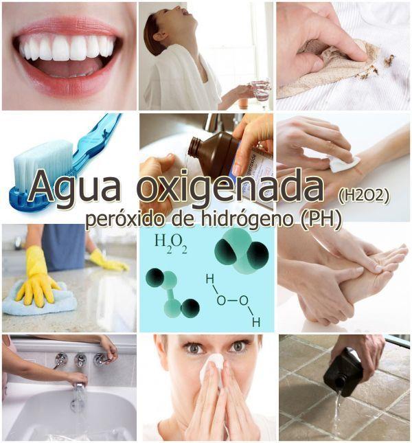 20 usos del agua oxigenada que te sorprenderán: para la belleza, remedios, limpieza y mas - ConsejosdeSalud.info
