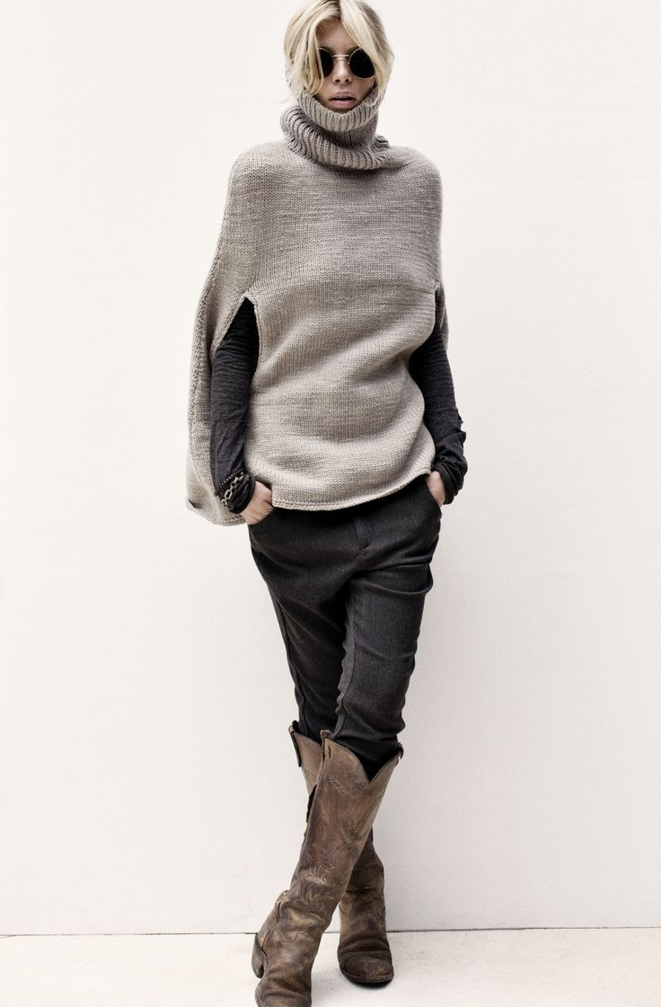 Arm Knitting Pullover : Best ideas about knit poncho on pinterest knitted