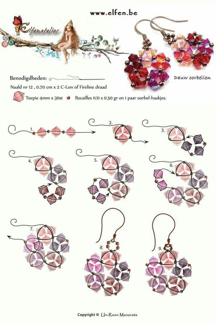 74 Best Beading Tutorial By Sara Spoltore (alias Beadsfriends) Images On  Pinterest
