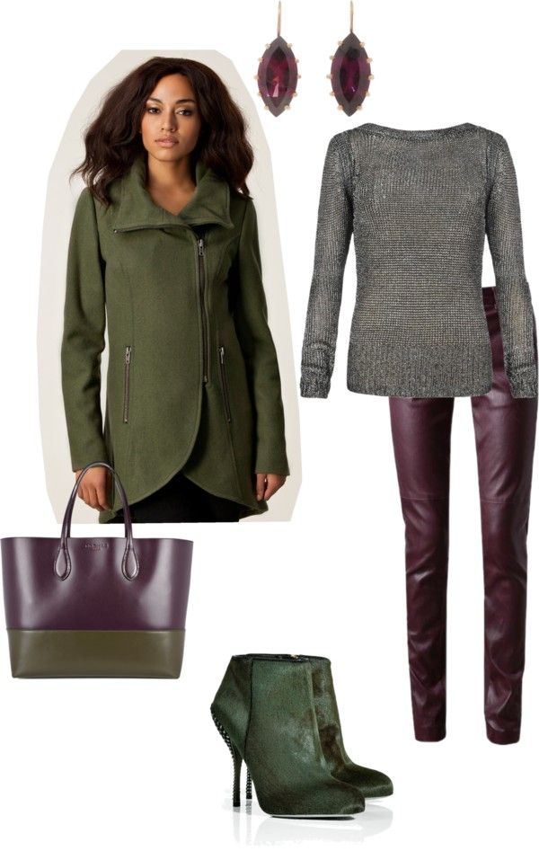 """Deep Autumn Look"" by sabira-amira on Polyvore"