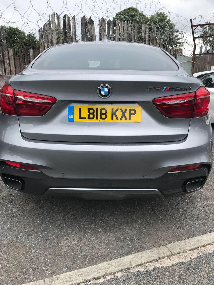The BMW X6 Diesel Estate xDrive M50d 5dr Auto Car Leasing