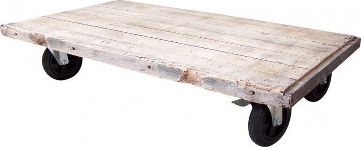 Salontafel steenschot op grote wielen (10720131441)