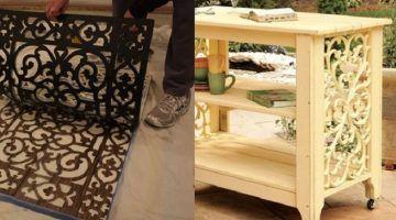 Wer kennt nicht die Türmatten aus Gummi? 8 originelle Möglichkeiten um sie als Dekoration zu verwenden!