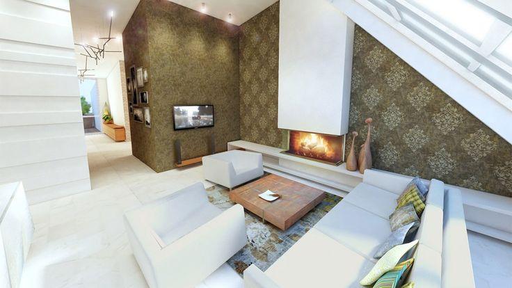 Luxury apartment interior design in Vienna by RELOAD architects | Luxus Penthouse lakások belsőépítészete
